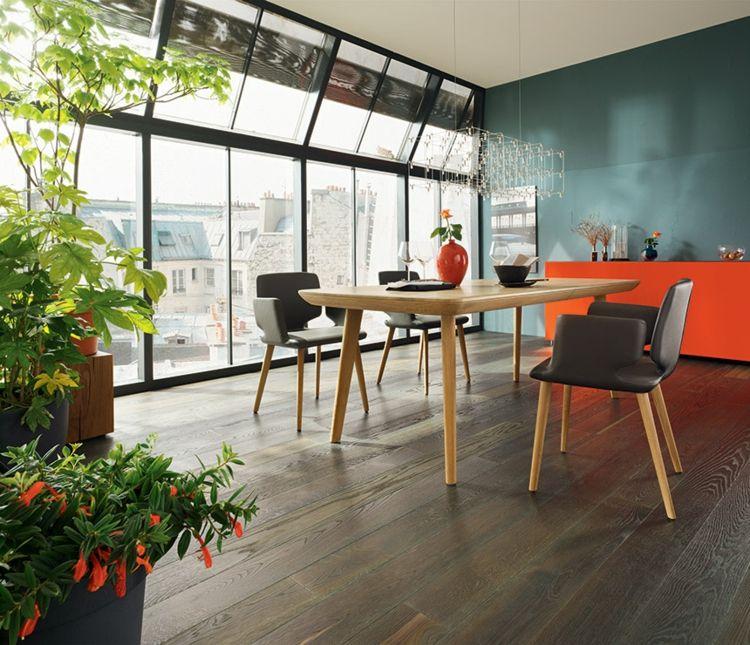 Esstisch mit Stühlen \u2013 moderne Esszimmermöbel aus Holz #esstisch