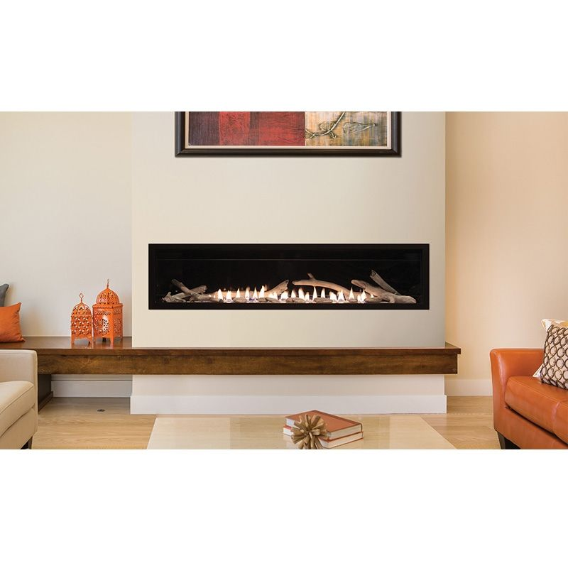 Empire 36 Vent Free Boulevard Linear Fireplace With Thermostat