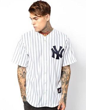 buy online bef80 4e511 Majestic NY Yankees Baseball Jersey | Mens Baseball Jerseys ...
