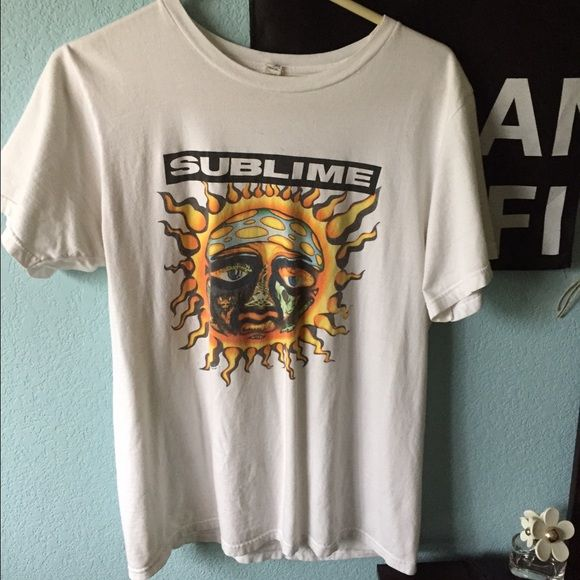 Sublime shirt Great condition sublime shirt. Has men's slim fit. No stains or tears. The picture is just a little faded from being washed. Tops Tees - Short Sleeve