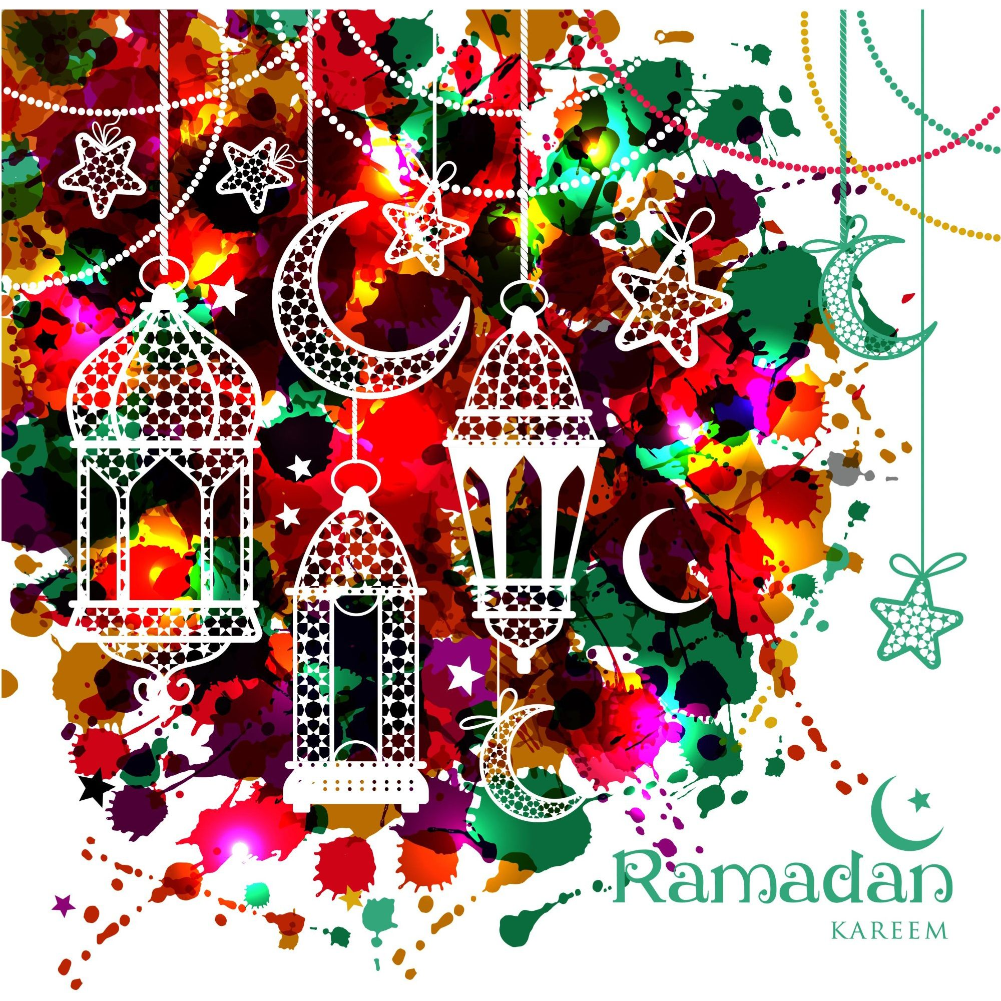 Greeting card or invitation for muslim community events vector eid greeting cards kristyandbryce Image collections