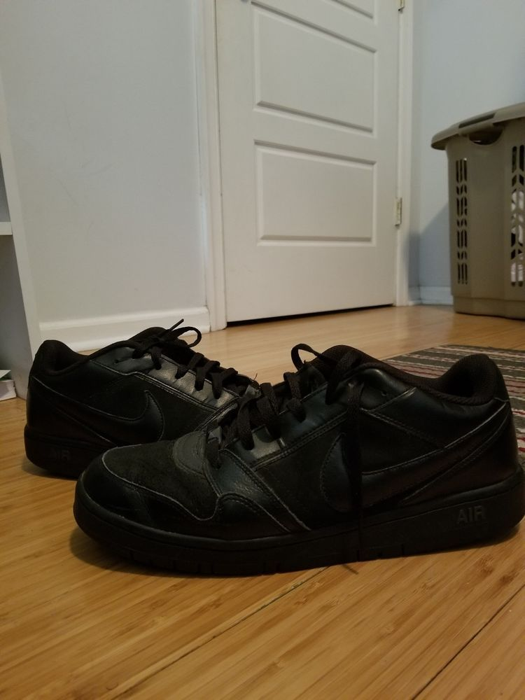 ef29cc881a8b2 Men s NIKE AIR PRESTIGE III 3 ATHLETIC SHOES Low Top All Black Size 12   fashion  clothing  shoes  accessories  mensshoes  athleticshoes (ebay link)
