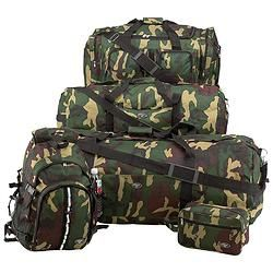 Extreme Pak™ Water-Repellent 5pc Luggage Set