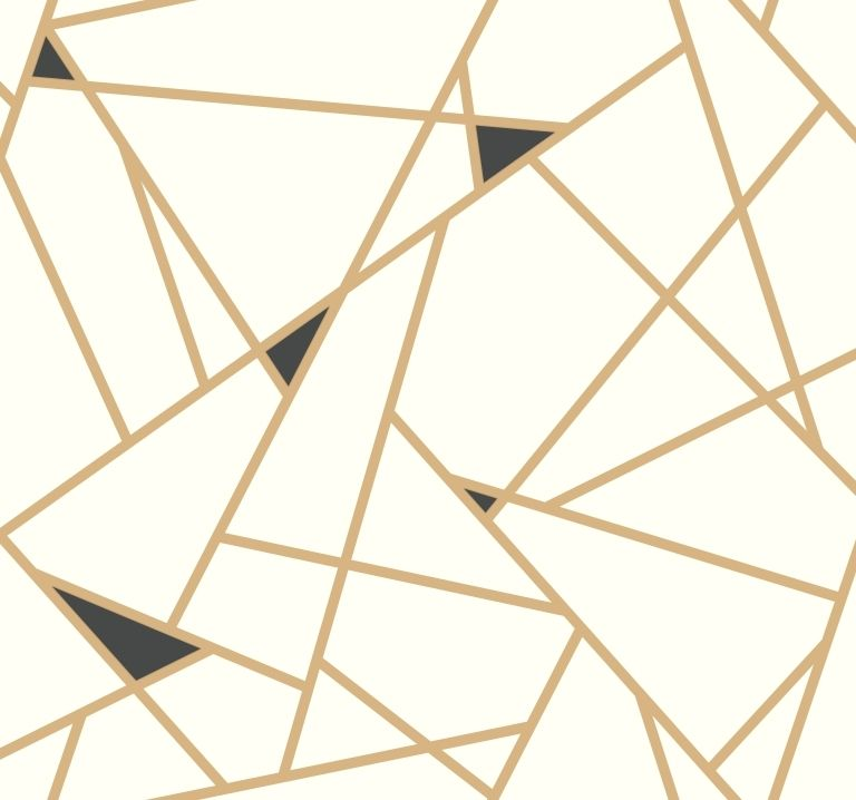 York Wallcoverings Risky Business 2 Ry2702 Prismatic Removable Wallpaper Metallic Gold Black White Geometric Removable Wallpaper Geometric Wallpaper York Wallpaper Gold and white geometric wallpaper