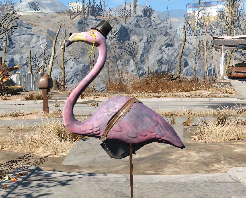Ringo The Flamingo At Fallout 4 Nexus Mods And Community Fallout 4 Mods Fallout 4 Funny Fallout 4 Items
