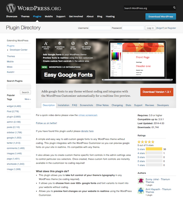 How To Use Google Fonts On Your WordPress Website | Elegant Themes ...