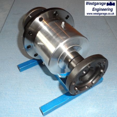 WG ATB, LSD, Chain Drive Differential (with EN24T output shafts