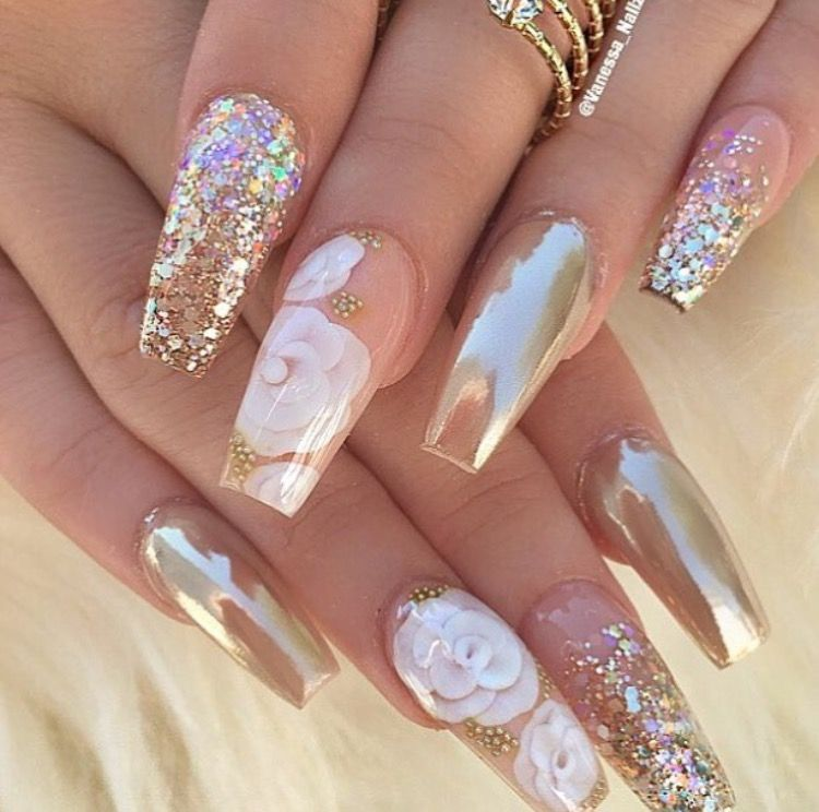 I Want My Nails Like These Nail Designs Gorgeous Nails Pretty Nails