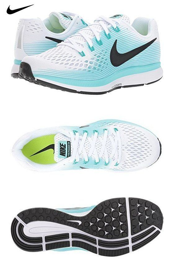 Nike Air Zoom Pegasus 34 WhiteBlackAurora Green Women's