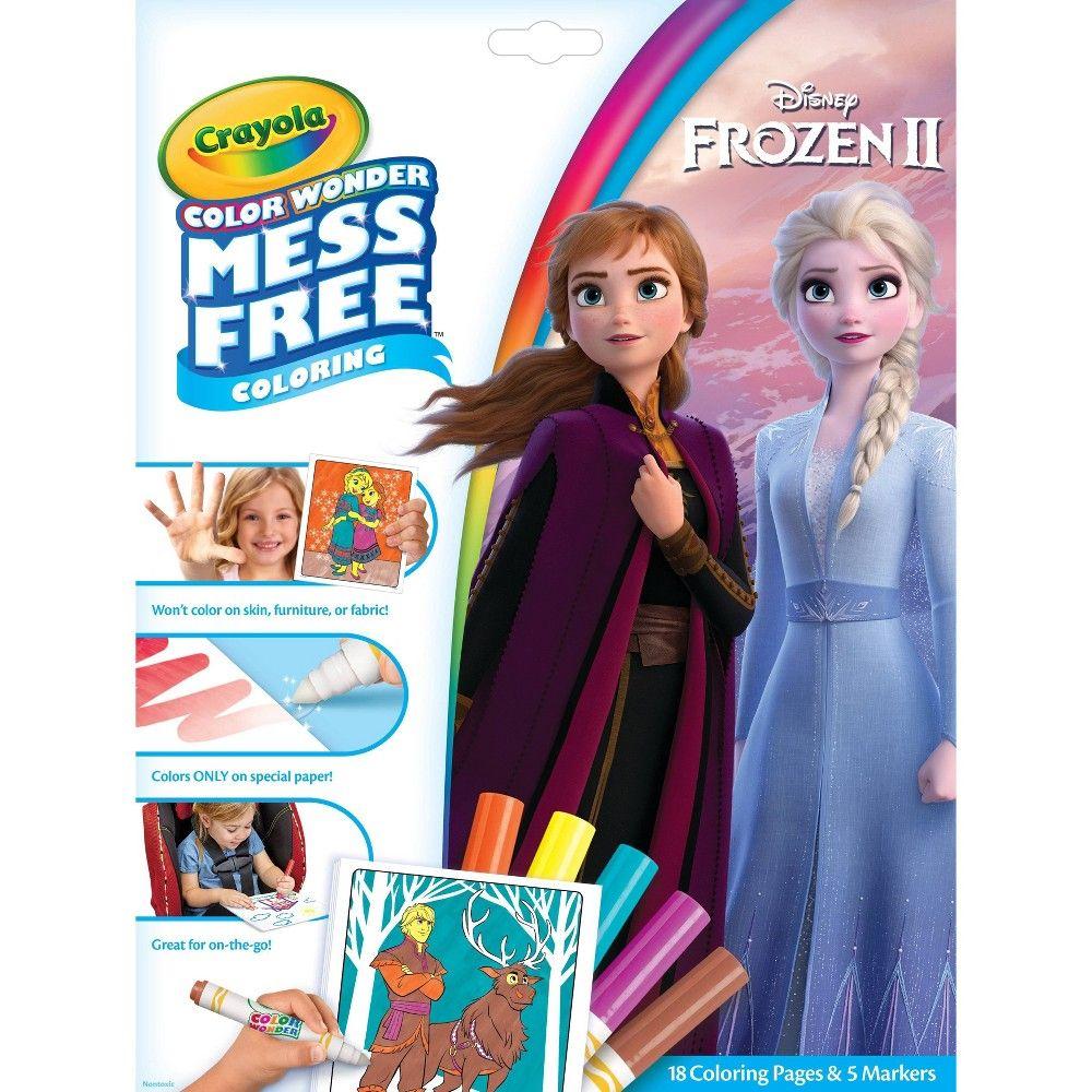 Crayola Color Wonder Frozen 2 Coloring Pages Set In 2021 Color Wonder Barbie Coloring Pages Barbie Coloring