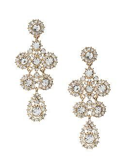 92dc64d19 Vintage Chandelier Earrings - Banana Republic | Prom | Chandelier ...