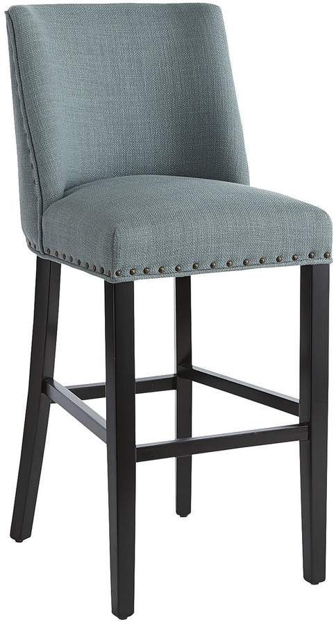 3ba45d5cad6a63 Corinne Linen Bar Stool in 2019 | Products | Bar stools, Stool ...