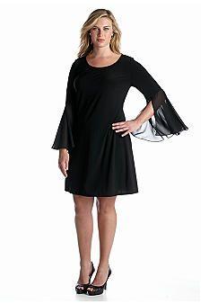5d69ee67d06 Junior Plus Size Dresses. MSK Plus Size Shift Dress