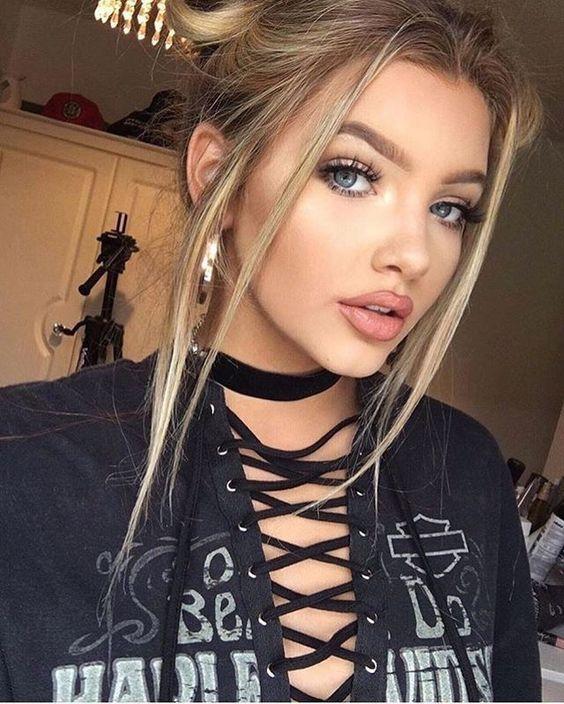 Beauty, Sophia Mitchell, Makeup Looks