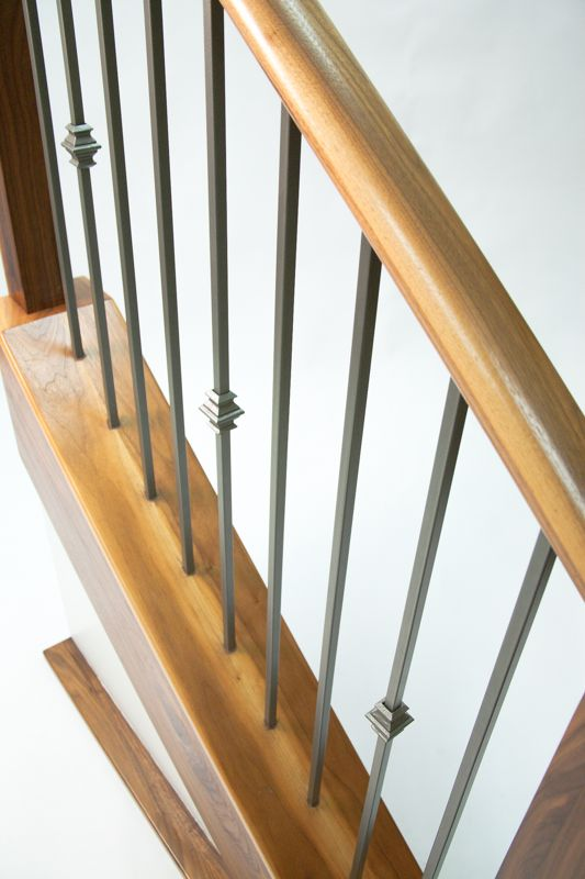 Best New Finish Ash Grey Ag Stair Display Stairs Ash Grey 640 x 480