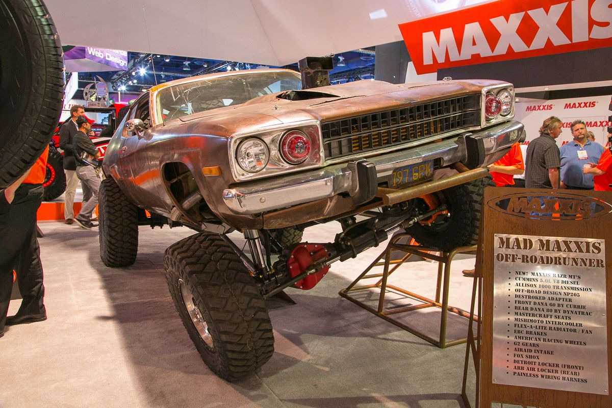 Fred Williams' Crazed 1973 Mad-Maxxis Off-RoadRunner | The