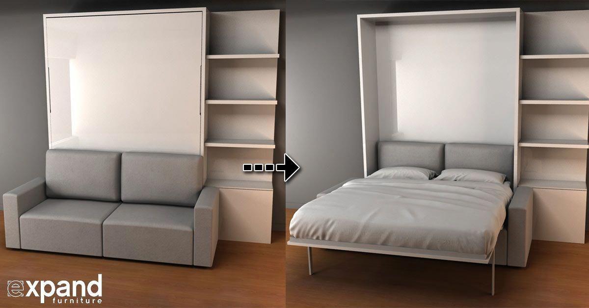 Murphysofa Clean Expand Furniture Murphy Bed Sofa