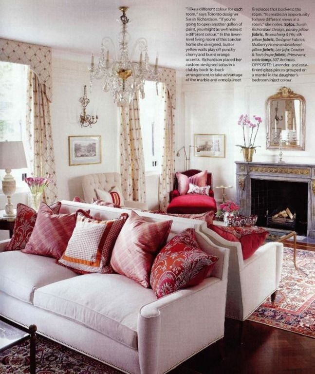 I love the drapes and pillows...|ggpht.com