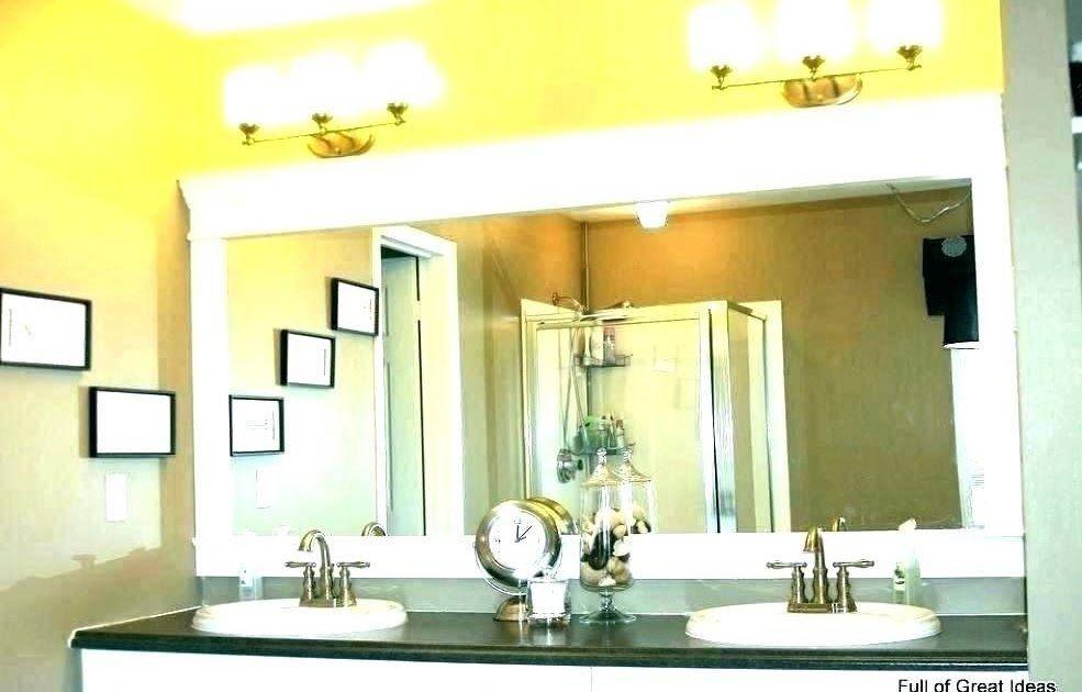 Amazing Bathroom Mirror Frame In 2020
