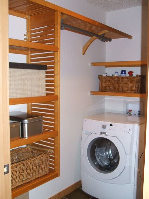 john home solid wood closet organizer laundry room wooden kits organizers lowes menards