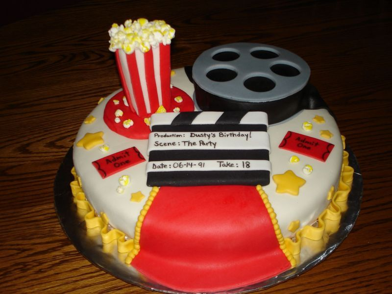 Movie Time Birthday Birthday Party For Teens Movie Themed Party