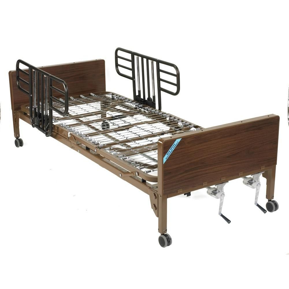Drive Multi Height Manual Hospital Bed With Half Rails Beds For Sale Hospital Bed Bed
