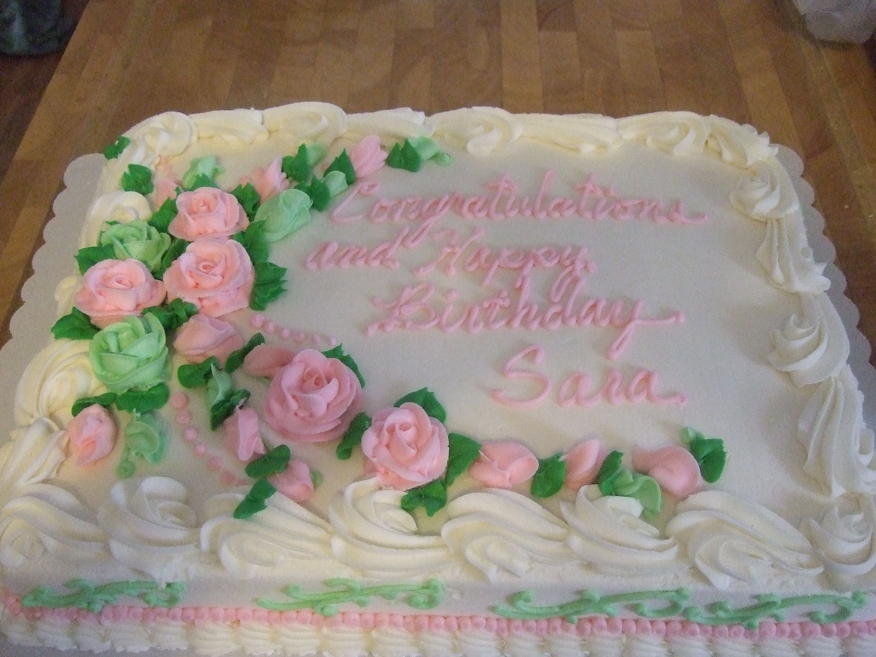 Sheet Cake With Images Birthday Sheet Cakes Sheet Cake