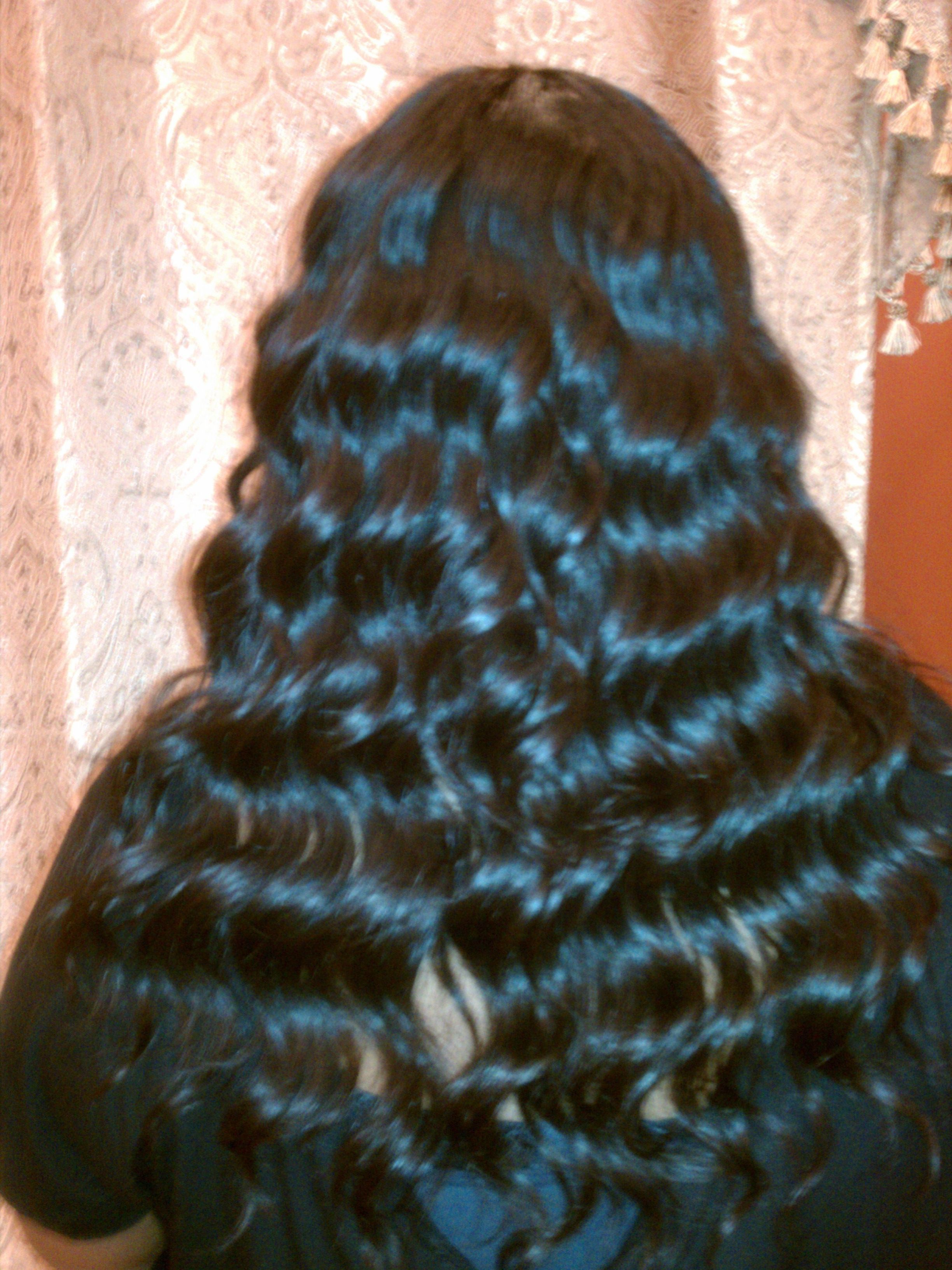 full head sew in weave with manual closure | weave