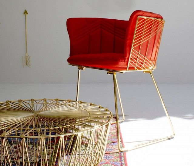 Awesome The Gorgeous New Gold Furniture Line We Re Loving Hem Stolar