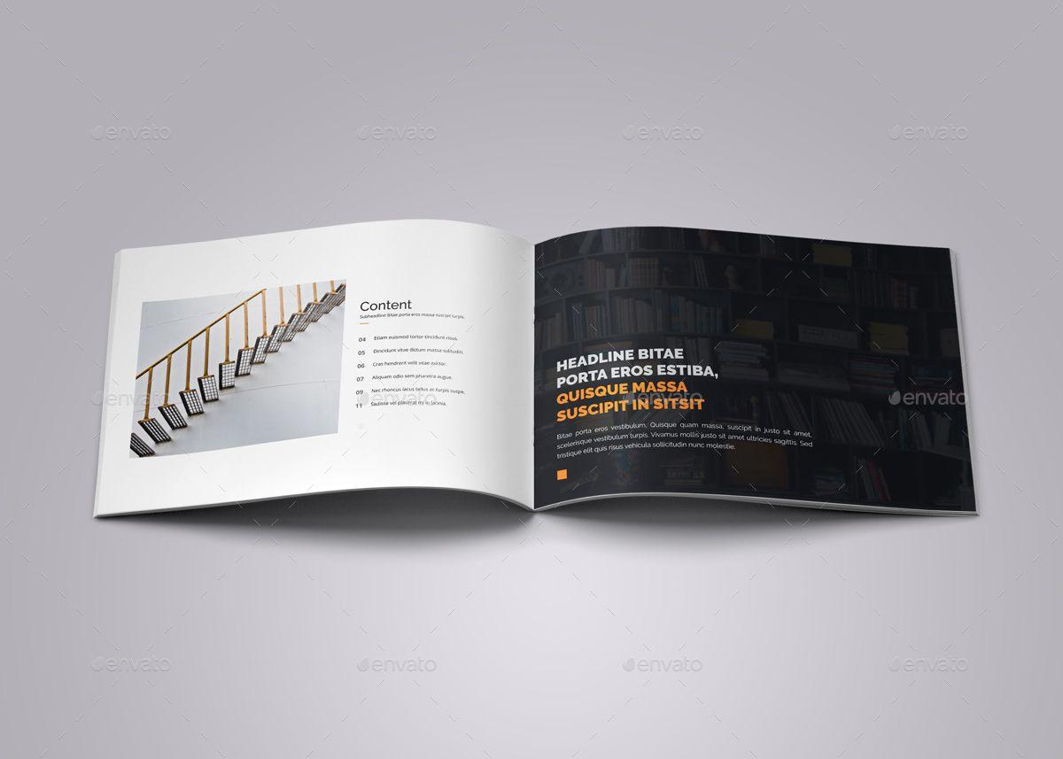 Portfolio Brochure Template v2 #Brochure, #Portfolio
