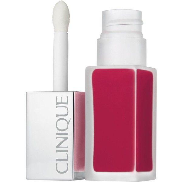 Clinique Pop Liquid Matte Lip Colour & Primer - Colour Sweetheart Pop (€19) ❤ liked on Polyvore featuring beauty products, makeup, clinique makeup, clinique cosmetics, clinique and clinique beauty products