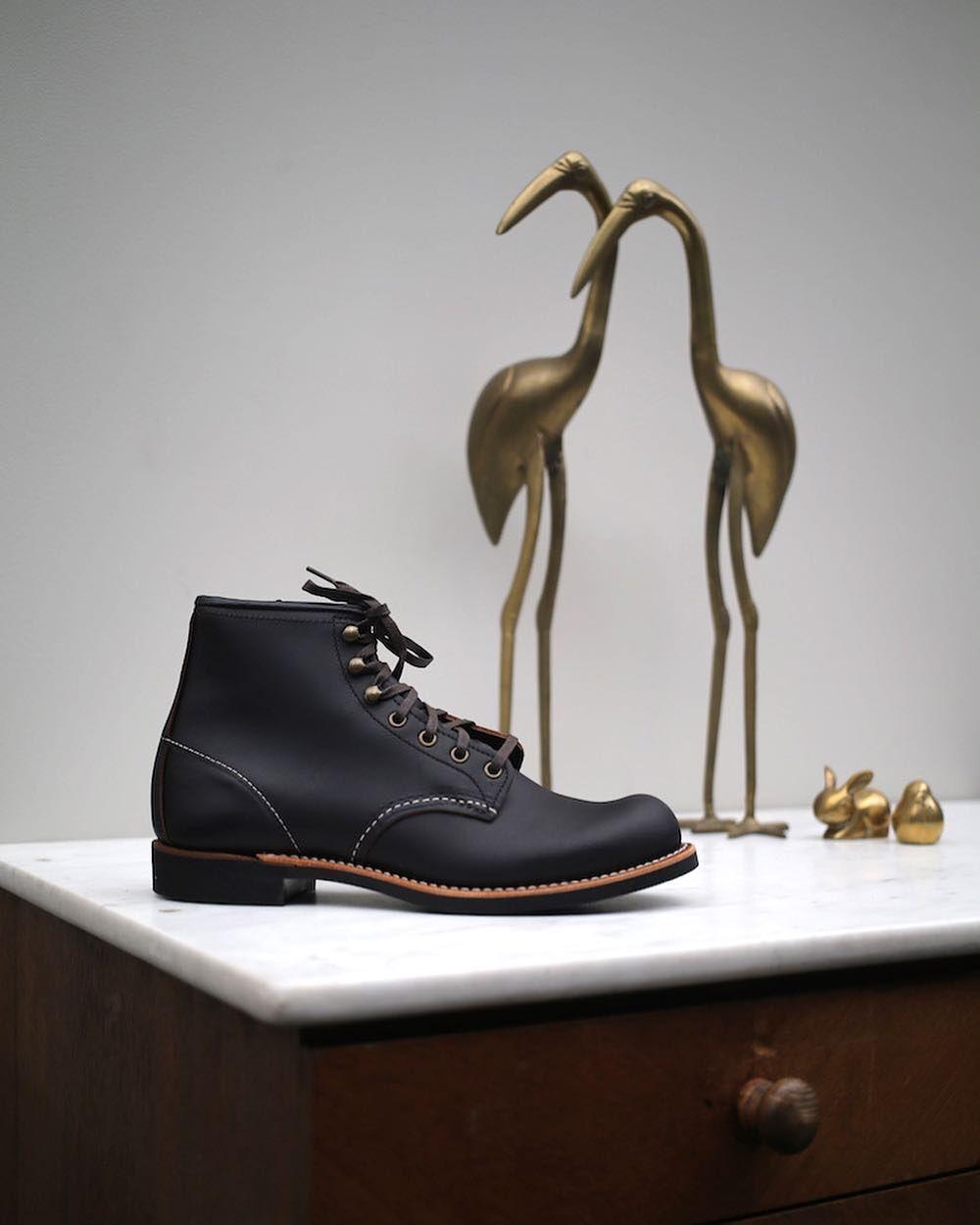 ecc77bba28 FW18 RELEASE - The Blacksmith in Black Prairie. Black Prairie is a similar  leather as