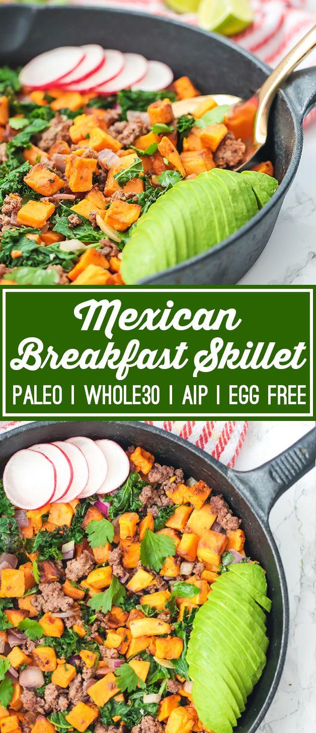 Mexican Breakfast Skillet | Unbound Wellness