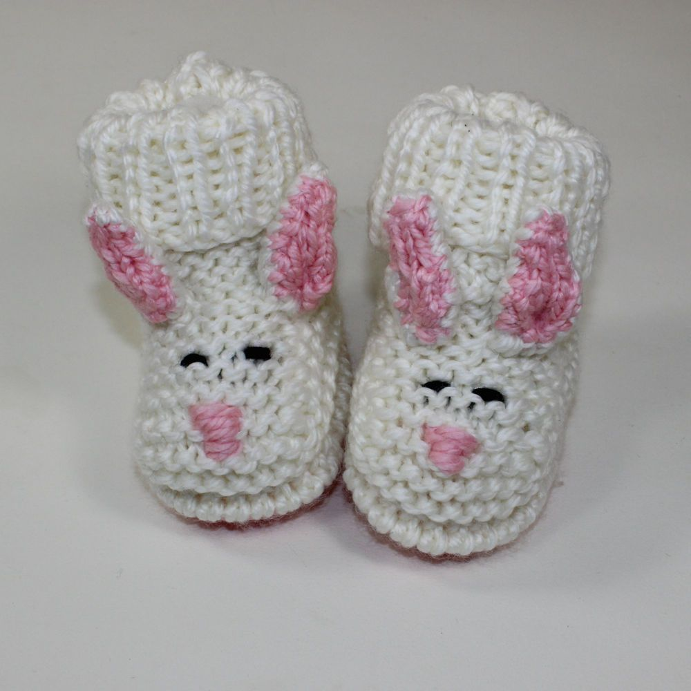 Printed Knitting Instructions - Toddler Bunny Boots ...
