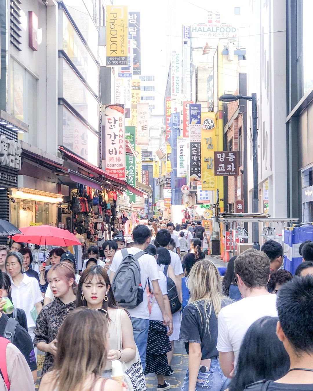 Basically The Times Square Of South Korea Overwhelming And Chaotic In 2020 South Korea Travel Korea Travel Visit Seoul