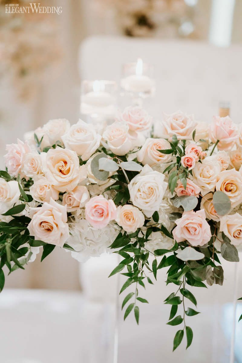 An Elegant Timeless Blush & Rose Gold Wedding Blush