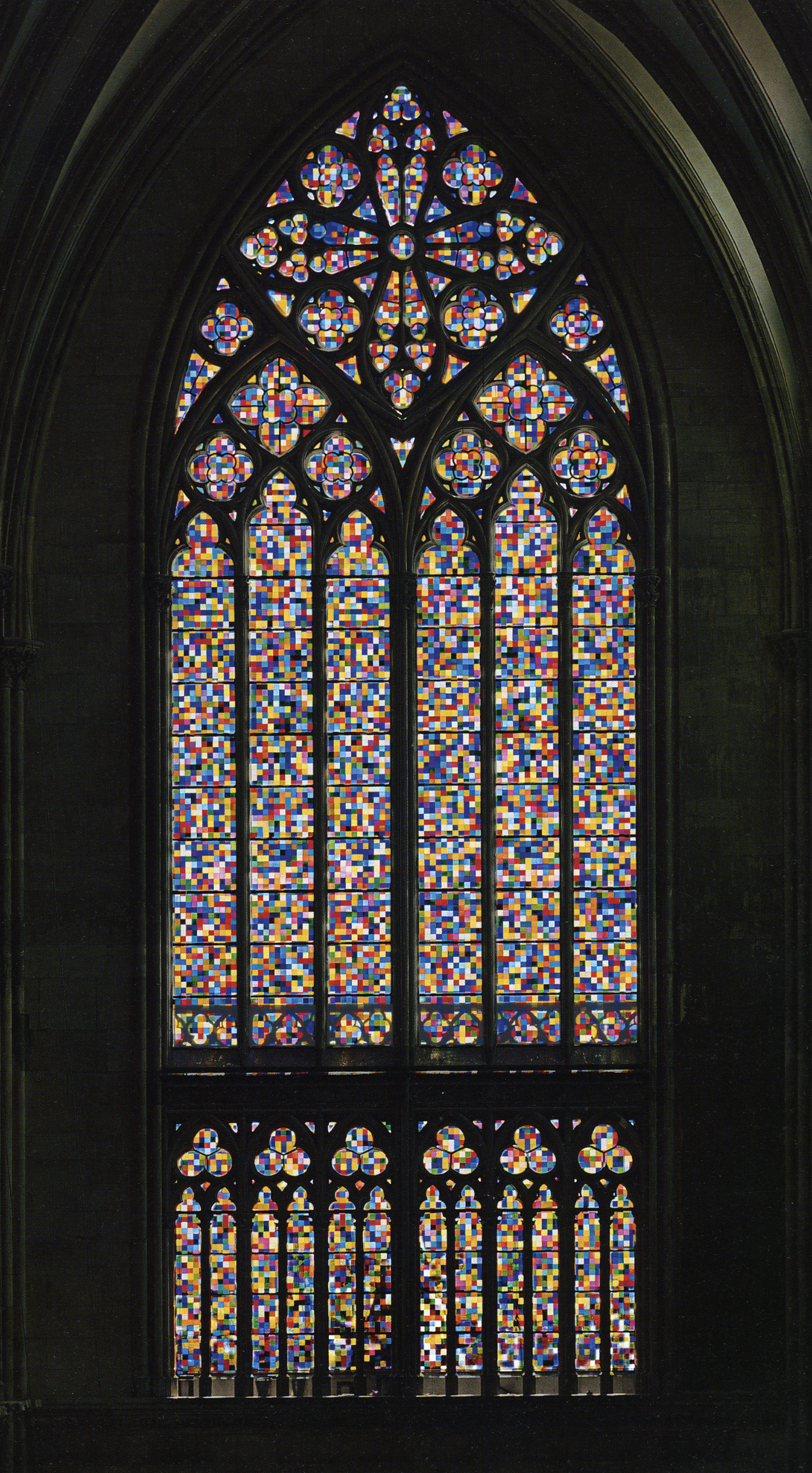 Cologne Cathedral Window 2007 Gerhard Richter Cathedral Windows Cologne Cathedral