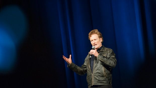 "#10 Reason UCSD Grateful this year: Conan's visit to ""Conan O'Brien College"" (Sixth College)"