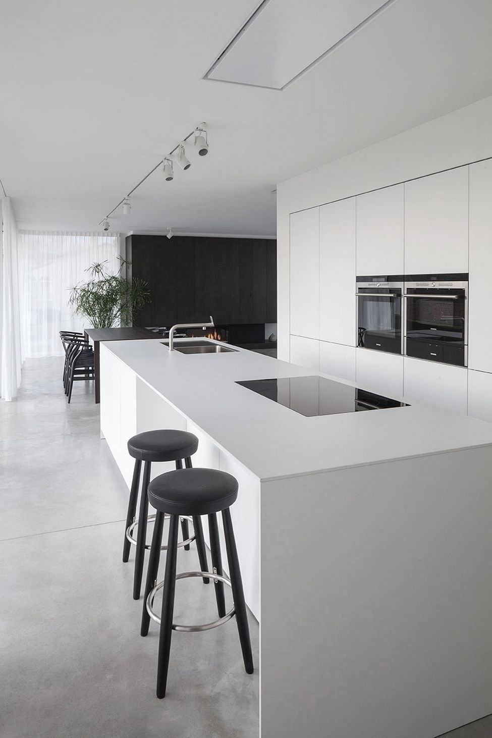 Cucina Moderna Bianca Laccata 100 idee cucine con isola moderne e funzionali   idee per la