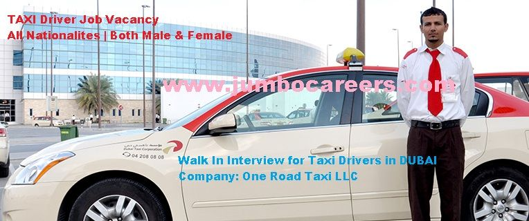 Latest Walk In Interviews For Taxi Drivers In Dubai 2018 Taxi