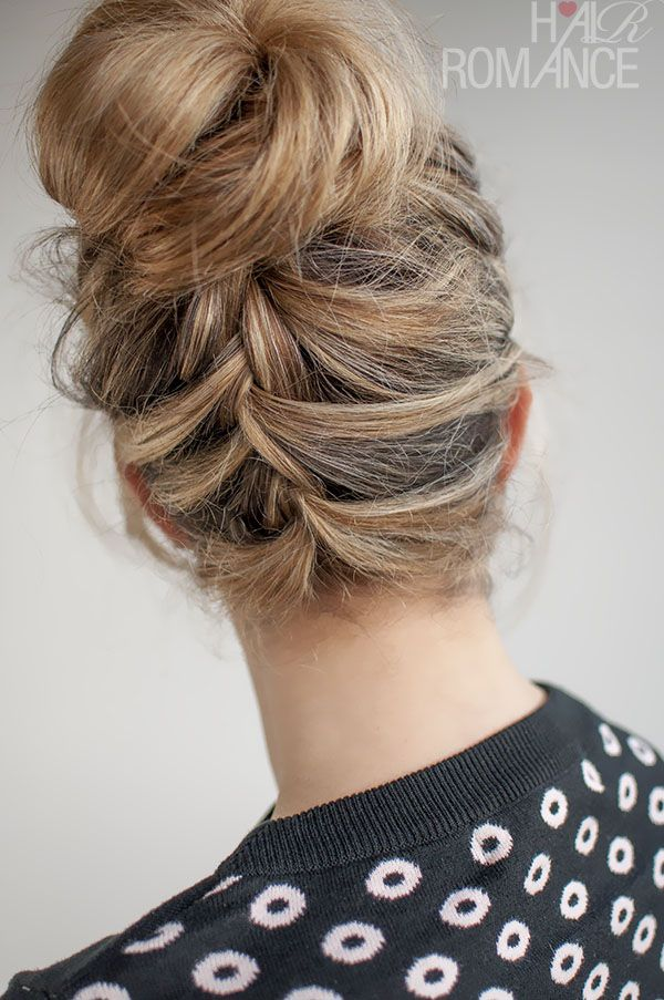 Remarkable 1000 Images About 30 Buns In 30 Days On Pinterest French Braid Hairstyle Inspiration Daily Dogsangcom