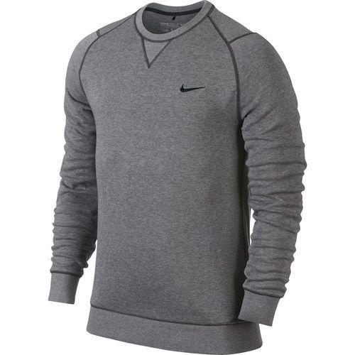e06143dedc Nike Golf Range Crewneck Sweater - Carbon Heather Black