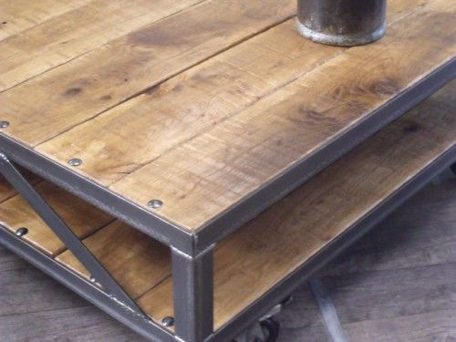 Table Basse Industrielle Loft Loft Pinterest Furniture
