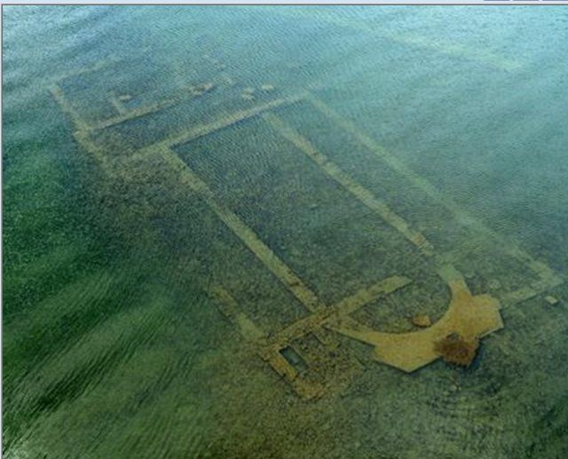 Underwater Ruins Of Nearly YearOld Basilica Discovered - Explorers discover ancient 1200 year old egyptian city
