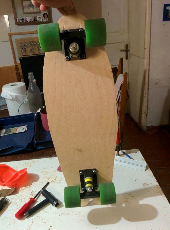 Small one longboard