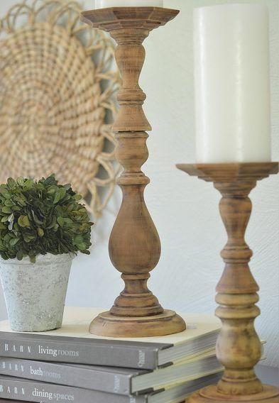 Diy como hacer candelabros de madera reciclada vestir - Como hacer candelabros ...