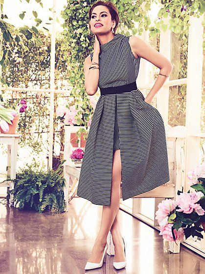 1b749d2495f Eva Mendes Collection - Freya Fit   Flare Dress - New York   Company ...