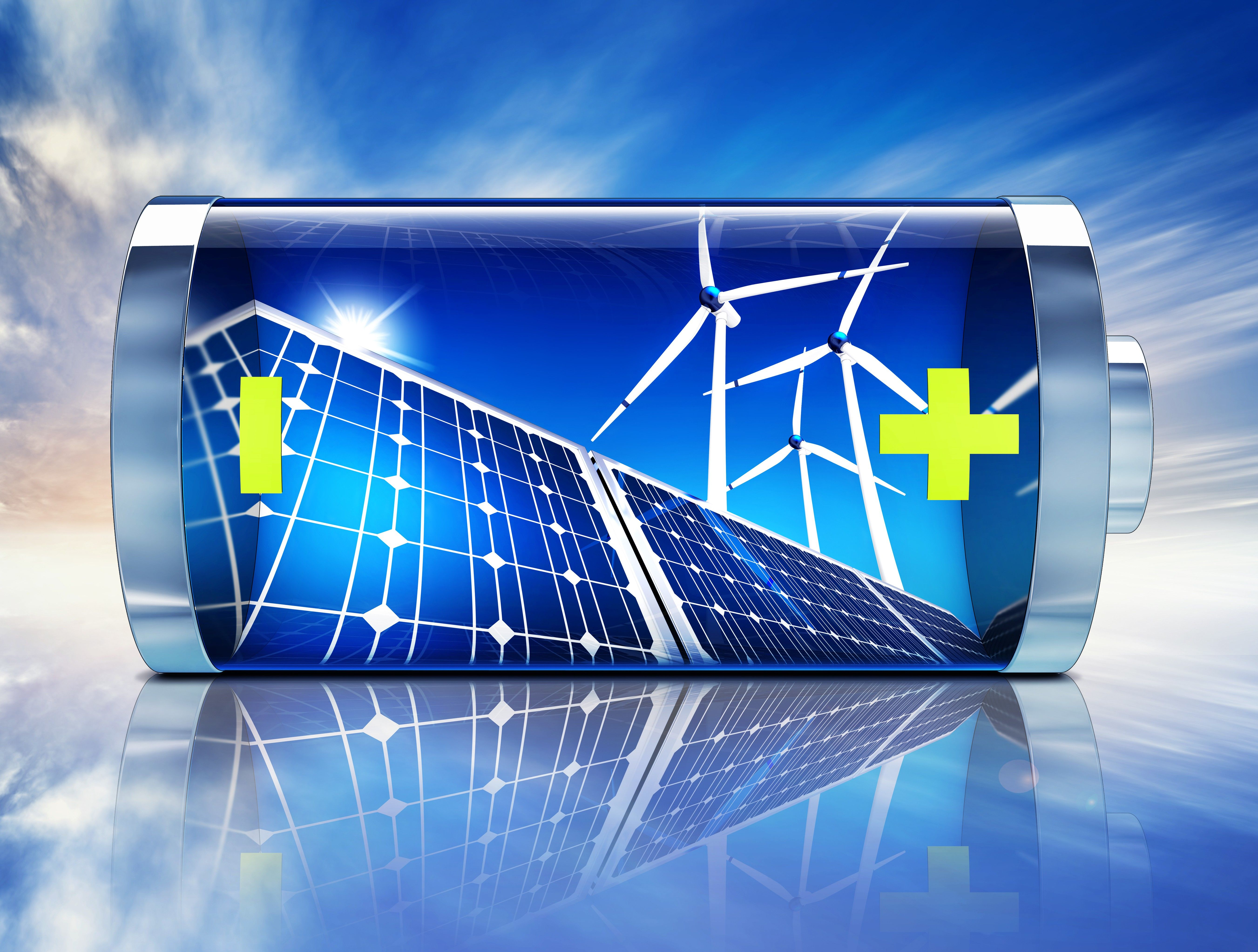 The Renewable Energy Industry Is Registering An Unprecedented Sharp Growth In India The Total Renewable Energy Installed C Energy Storage Solar Battery Solar