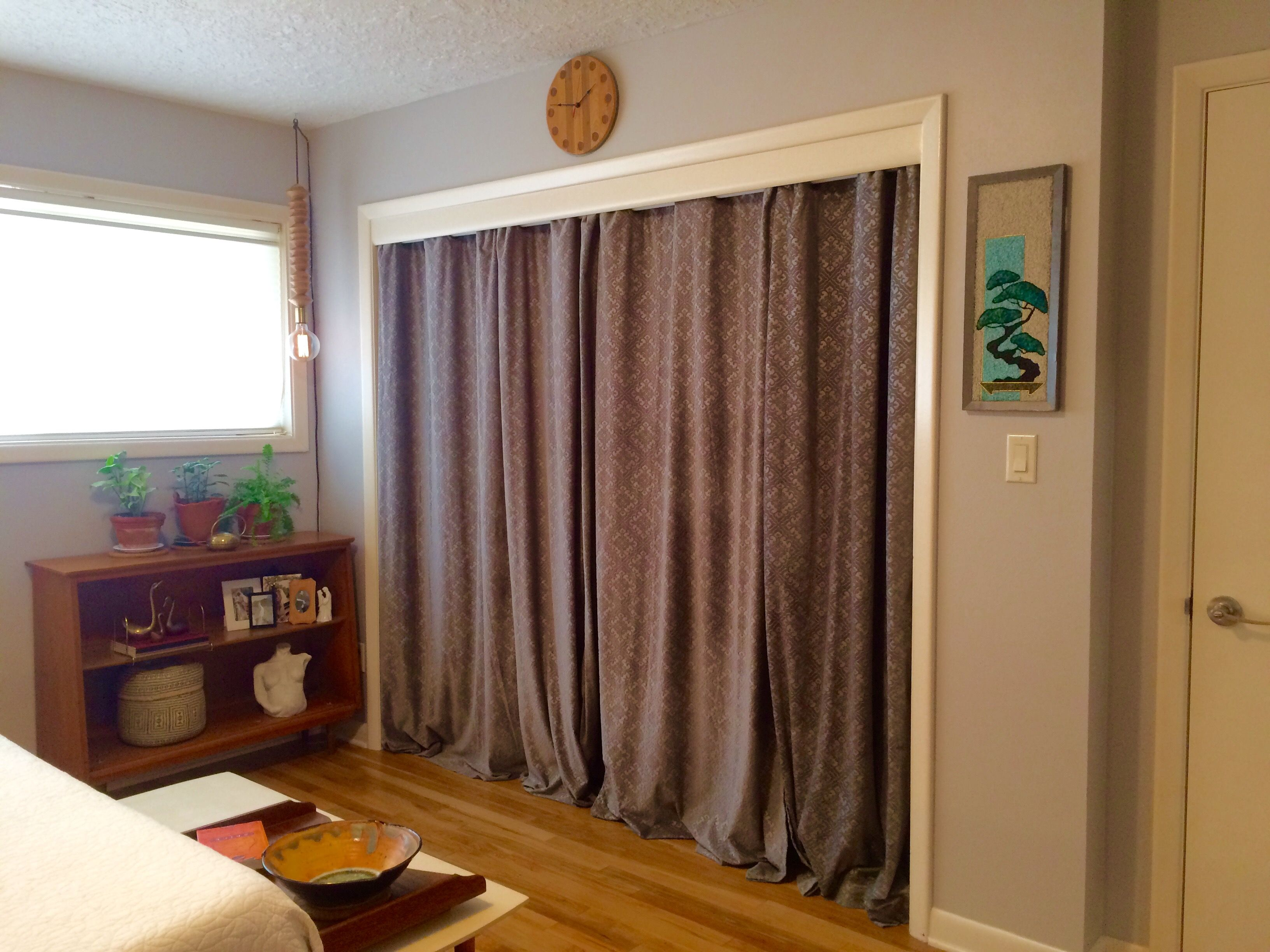 Uncategorized Curtains Instead Of Closet Doors Banish Sliding Closet Doors  And Use Curtains Instead Twice Instead