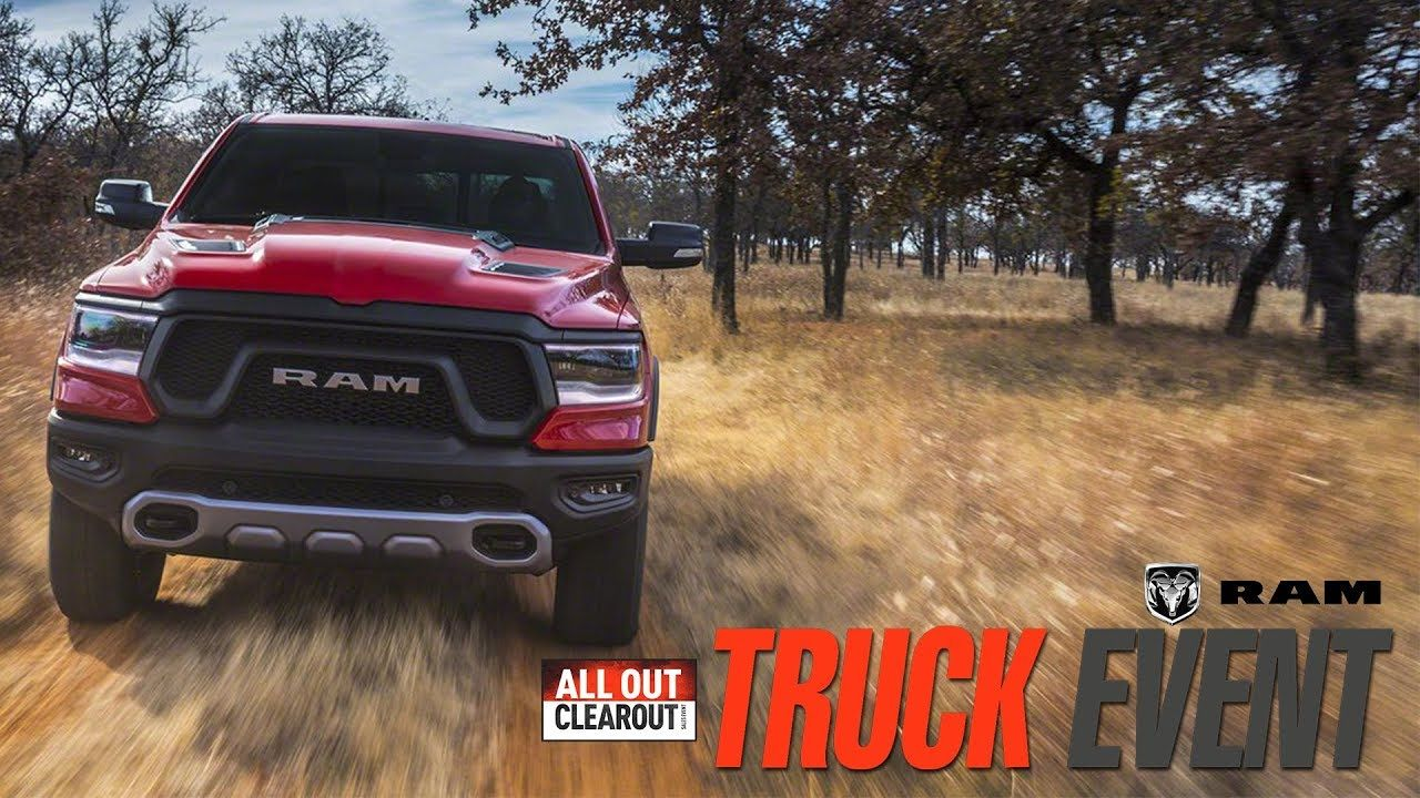 Crosstown Chrysler Dodge Jeep Ram 2019 Ram 1500 Tradesman Offer